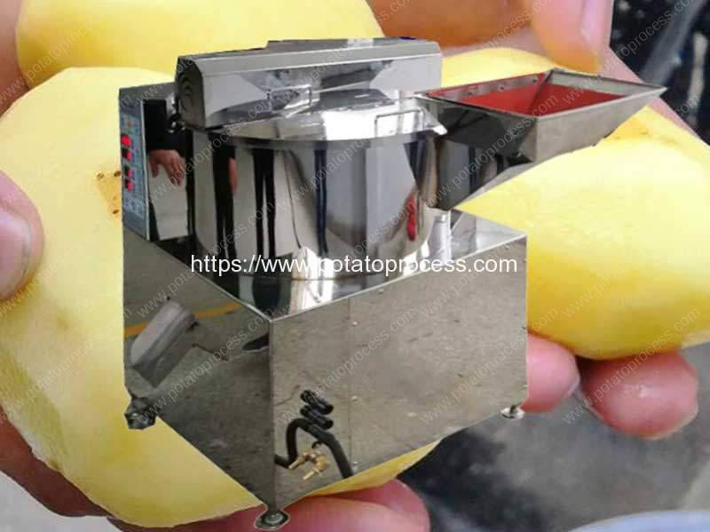 Potato-Knife-Peeling-Machine