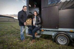 Farmers making VODKA from potatoes too 'ugly' to sell in supermarkets