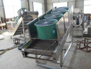 Automatic-Air-Cooling-Conveyor-with-Oil-Removing-Function