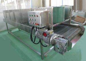 Automatic Potato Chips Air Cooling Machine