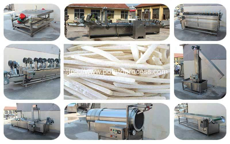 Full-Automatic-500kgh-Frozen-French-Fries-Production-Line