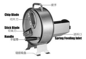 Manual-Potato-Chips-and-Stick-Cutting-Machine-Structure
