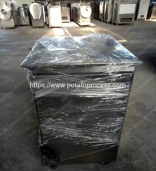 Round-Inlet-Potato-Chips-Slicing-Machine-Delivery-for-France-Customer