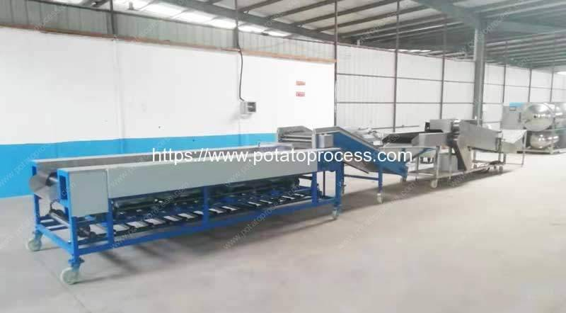 Automatic-Potato-Dry-Cleaning-and-Size-Sorting-Plant-to-Mongolia-Customer