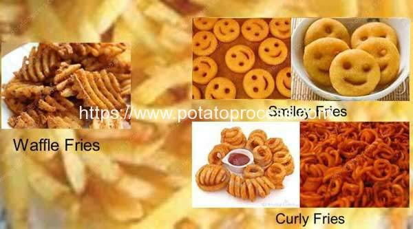 Different-French-Fries-Shapes-Introduction
