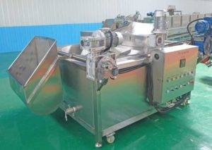 Automatic-Material-Feeding-Frying-Machine
