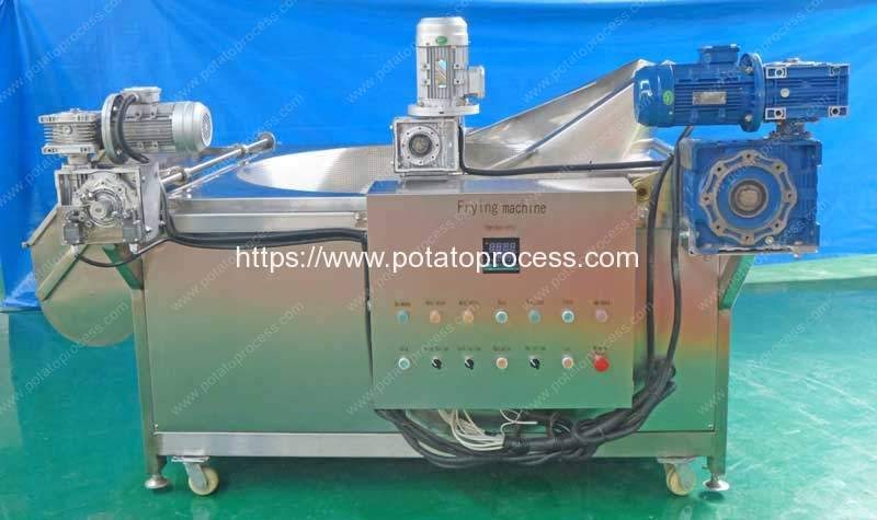 Automatic-Material-Feeding-Frying-Machine-with-Auto-Discharge-Function