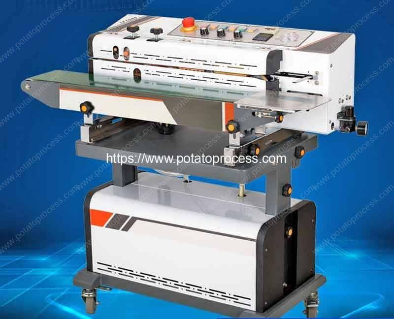 Potato Chips Sealing Packing Machine with Nitrogen Injection Function