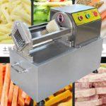 آلة قطع البطاطس المقلية شبه الأوتوماتيكية