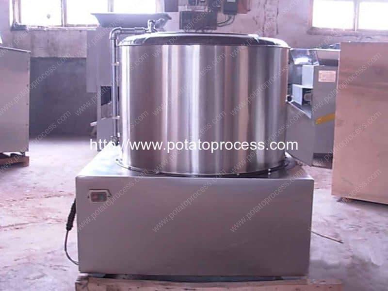 Linha de produção de batatas fritas 100KGH