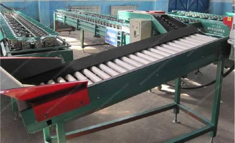 Automatic Potato Weight Grader Machine
