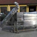 Línea de selección y corte de peeling de papa 800kgh automática completa