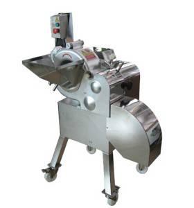 Máquina de corte da batata do cubo