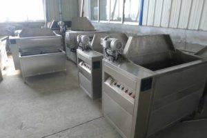 Automatic-Discharging-Potato-Frying-Machine