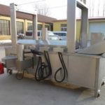 Automatic Natural Gas Heating Potato Chips Frying Machine
