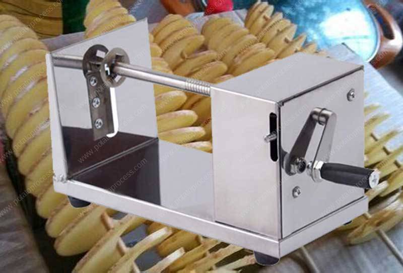 Manual-Stainless-Steel-Spiral-Potato-Cutting-Machine