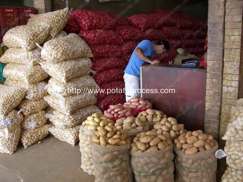 Potato-Packaged-Storage-in-Mesh-Bag