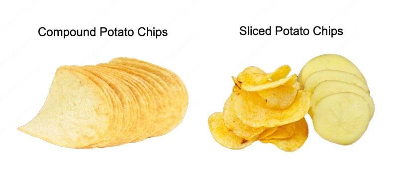 Sliced Potato Chips VS Compound Potato Chips