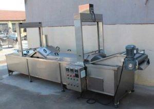 Automatic-Hot-Water-Blanching-Machine