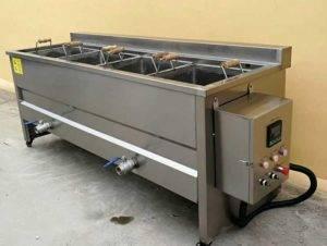 Semi-Automatic-Potato-Chips-French-Fries-Frying-Machine