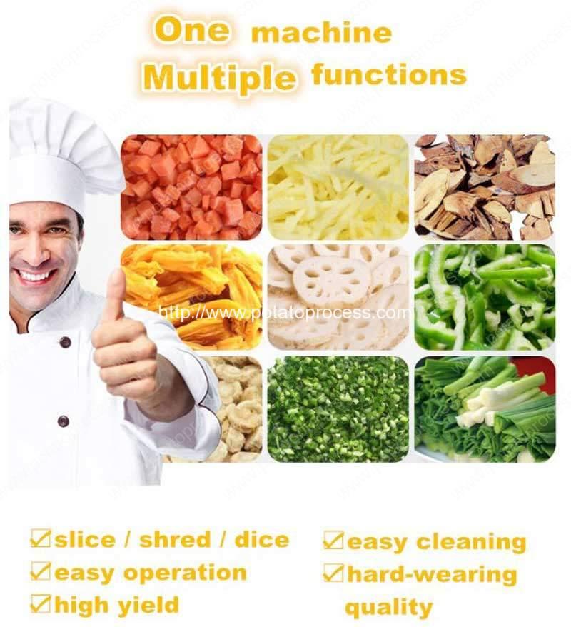 Multi-Function-Potato-Vegetable-Fruit-Cutting-Dicing-Slicing-Machine-Application