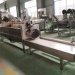 Large Capacity 2000kgh Potato Washing Peeling Machine