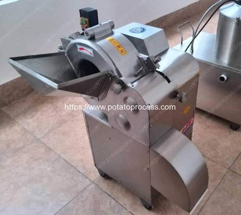 Automatic-Sweet-Potato-Dicing-Cutting-Machine-for-USA-Customer