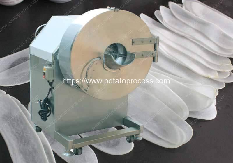 Large-Type-Potato-Chips-Cutting-Machine -Manufacture