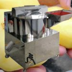 Small Capacity Potato Knife Peeling Machine for Sale