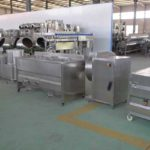 Semi-Automatic 100kgh French Fries Production Line