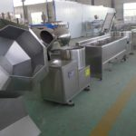 Semi-Automatic 50KGH Frozen French Fries Production Line