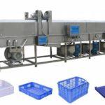 High-Pressure Water Spray Potato Plastic Basket Washing Machine