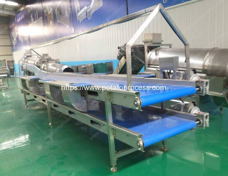 Automatic-Double-Layer-Potato-Selection-Conveyor