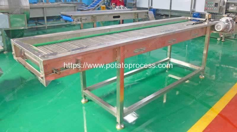 Automatic-Mesh-Belt-Selection-Conveyor