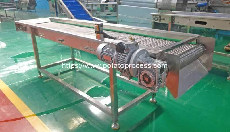 Automatic-Steel-Belt-Selection-Conveyor