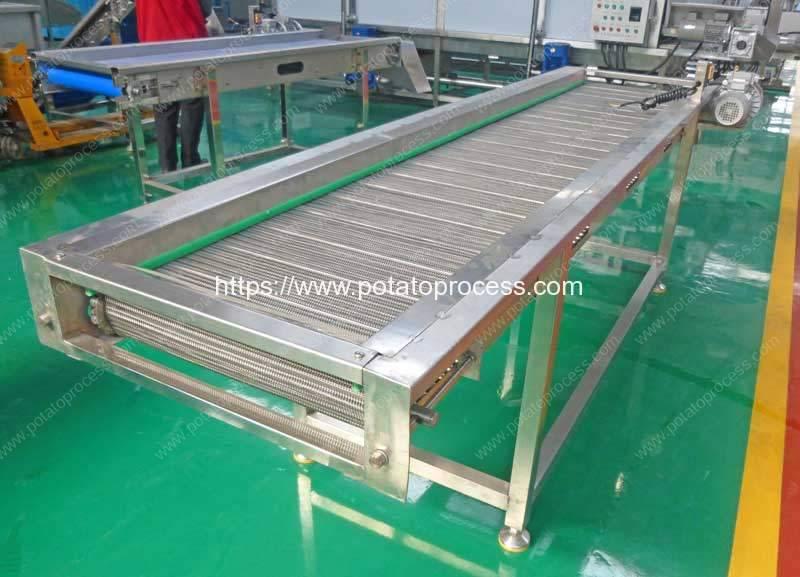 Automatic-Steel-Mesh-Belt-Selection-Conveyor