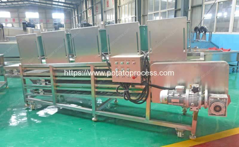 Multi-Layer-Potato-Chips-Cooling-Machine