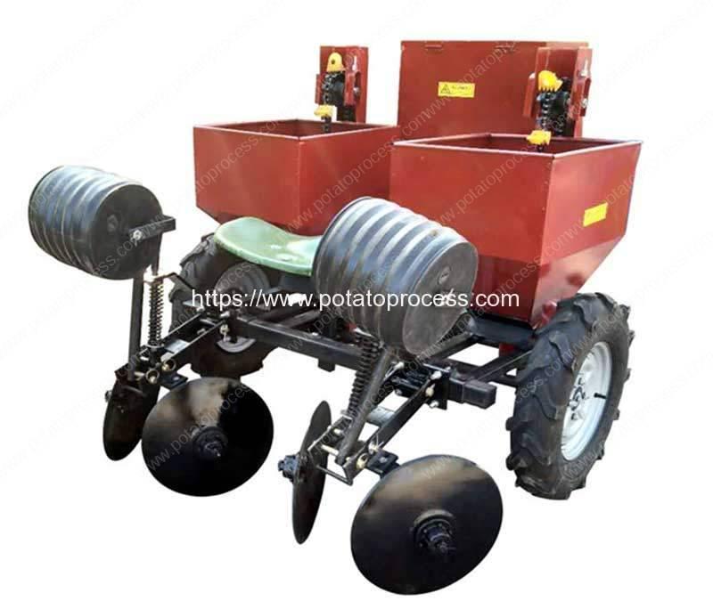 Automatic-Double-Row-Potato-Planter-Machine