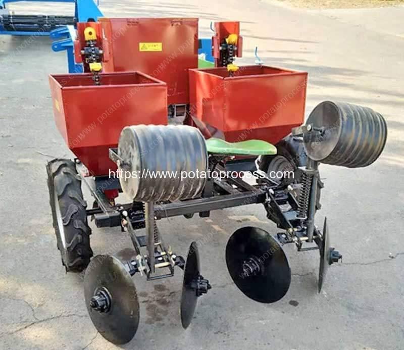 Automatic-Two-Row-Potato-Planter-Machine